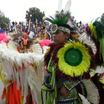 Attend a Native American pow-wow