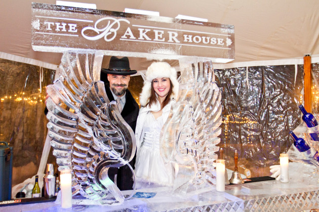 Sip on your favorite frosty cocktail at the Winterfest Ice Bar at The Baker House. (Feb. 5-7)