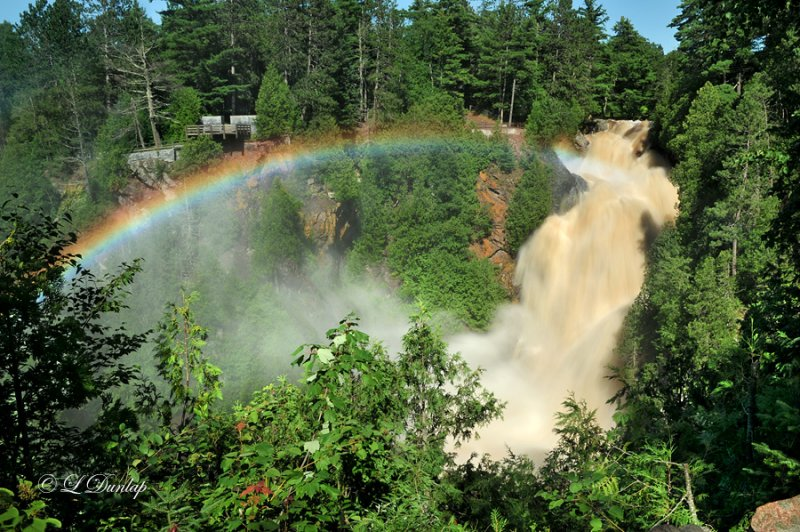 Big Manitou Falls by Larry and Linda Dunlap