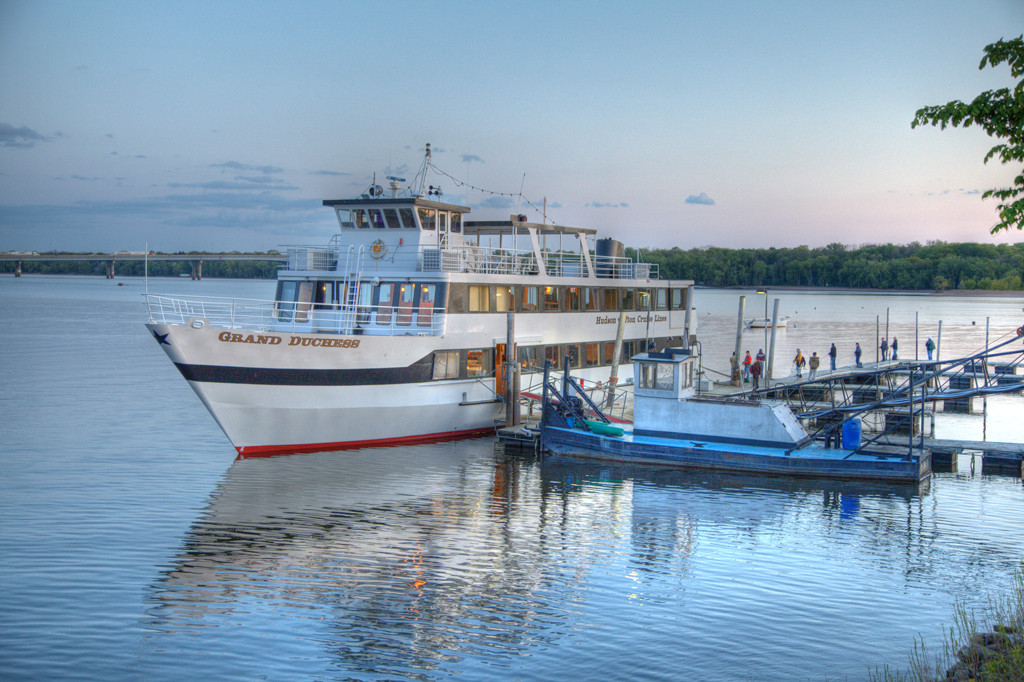 Grand Dutchess Cruise Ship is the perfect way to see Hudson. [Photo by Bucklew Photography]