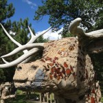 Relish eclectic pieces of concrete art at Fred Smith's Wisconsin Concrete Park (Phillips)