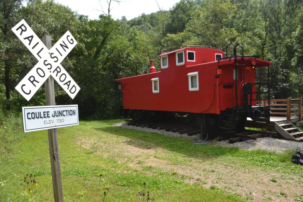 [Photo courtesy of Coulee Junction Caboose]