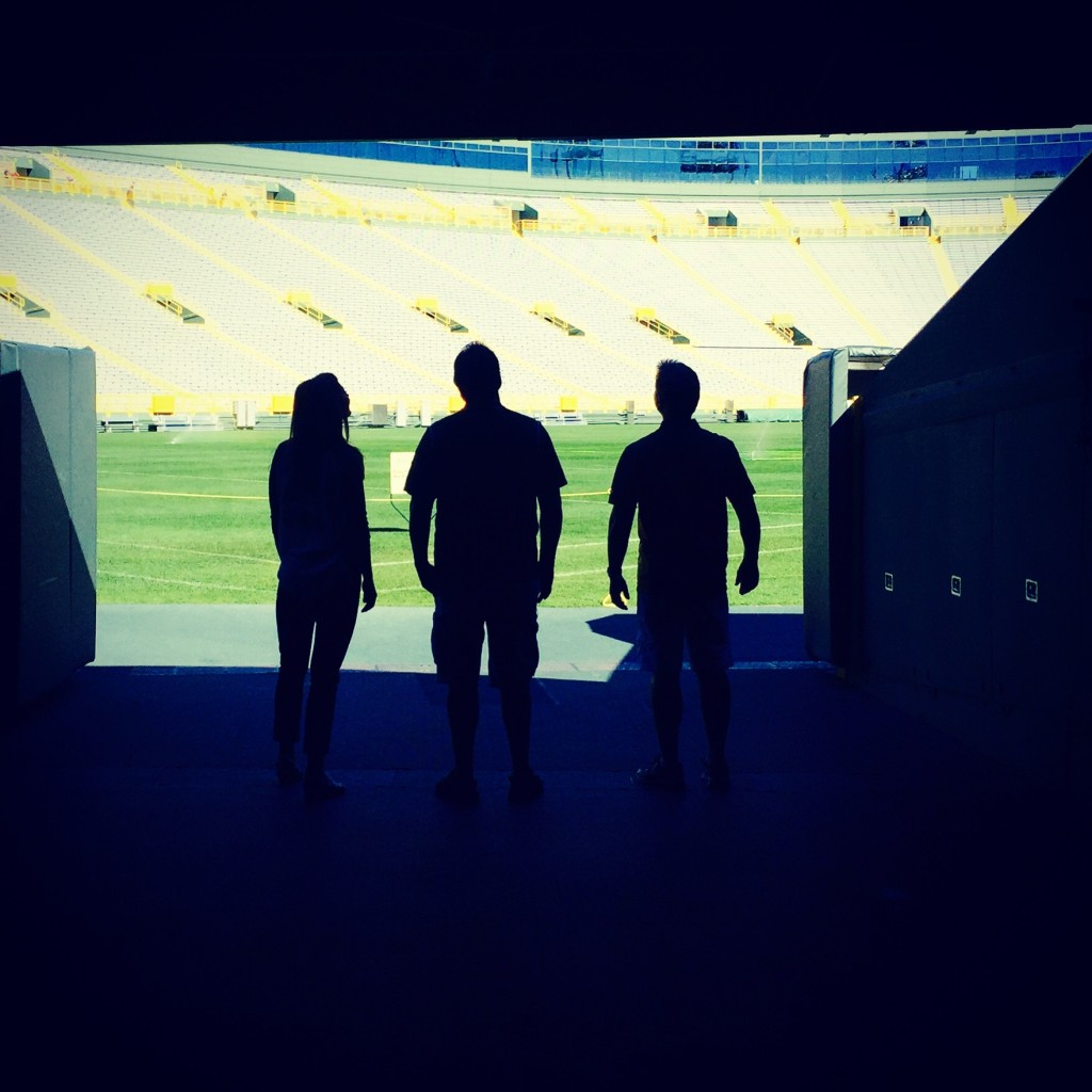 Discover Wisconsin hosts Mariah Haberman and Jake Zimmermann took a stadium tour of Lambeau Field with former Packers kicker Chris Jacke