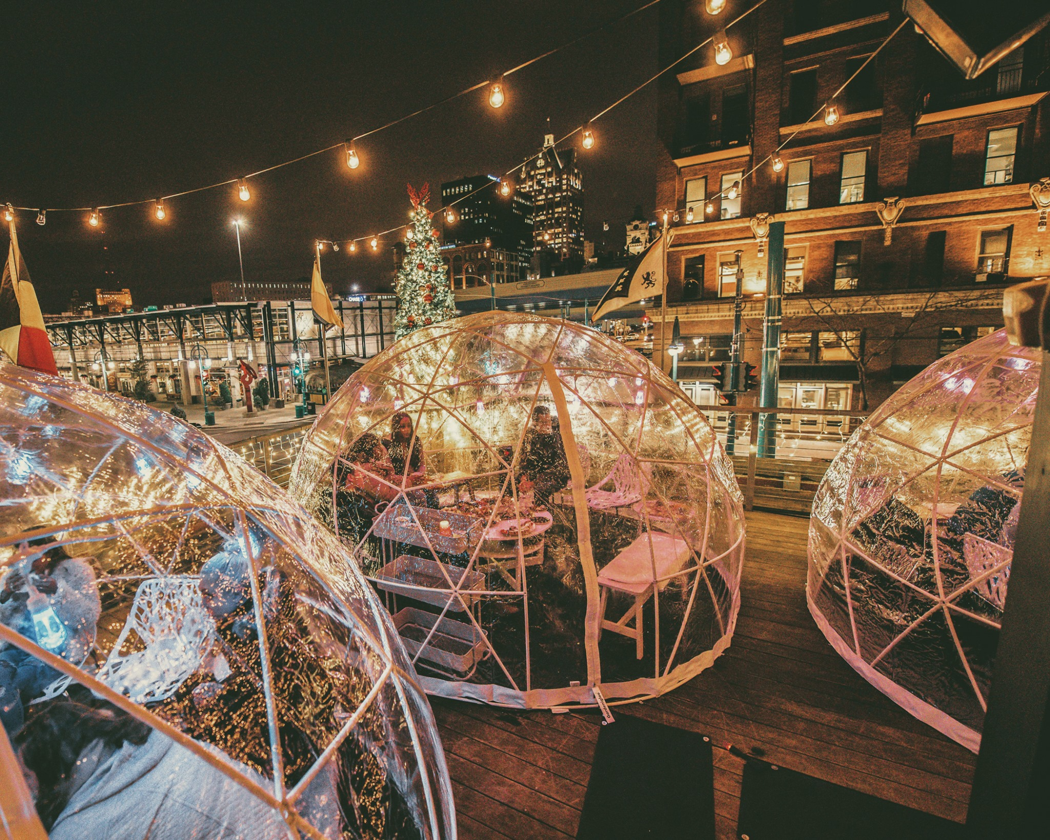 Dine Inside These Dreamy Winter Igloos