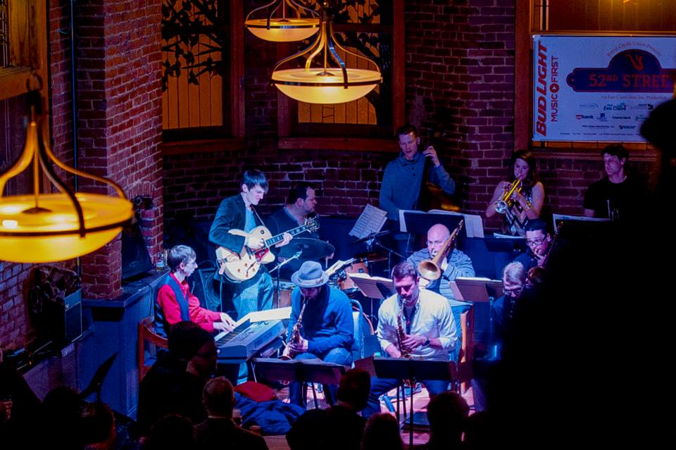 The Eau Claire Jazz Festival's 52nd Street was started in 2013 as the brainchild of Artistic Director Bob Baca. This year's festival is April 22-23.