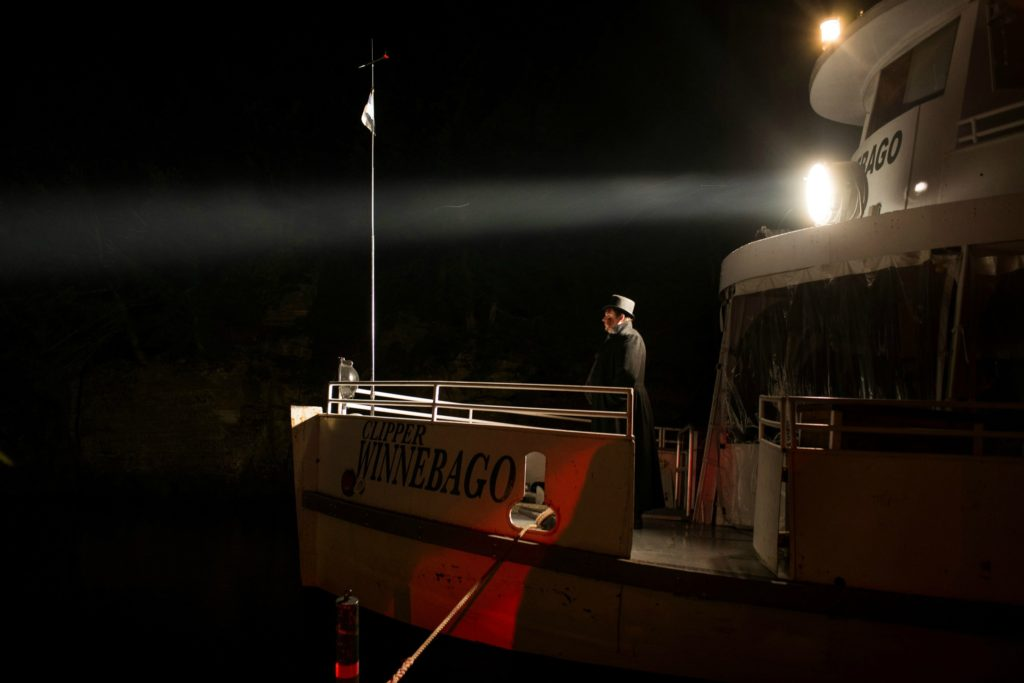 [Photo courtesy of Dells Boat Tours -- Ghost Boat]