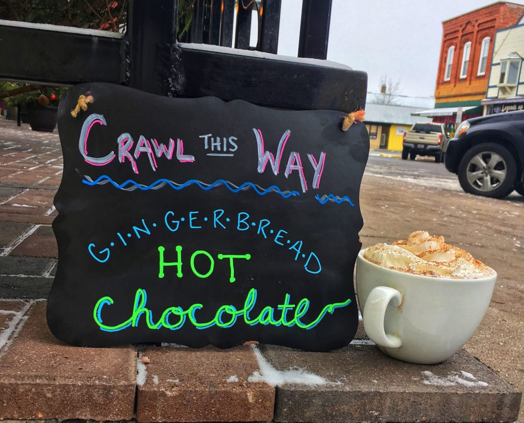 Hayward Coffee Co hot chocolate