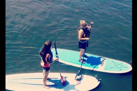 I took a standup paddleboard history tour in Wisconsin Rapids