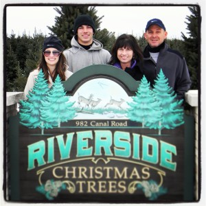 Riverside Christmas Trees
