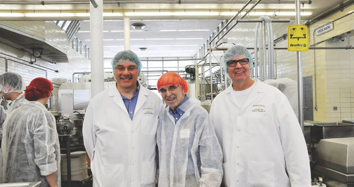 Wisconsin Cheese John Jaeggi Bill Wendorff Mark Johnson