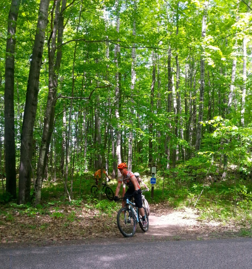 Langlade County has miles of trails throughout the Nicolet National Forest perfect for mountain biking