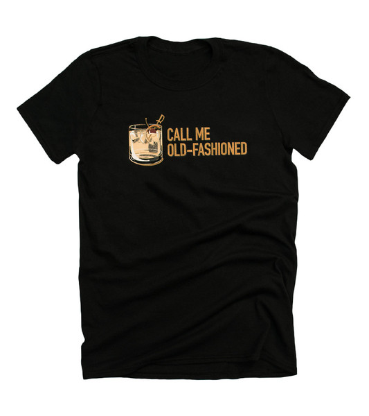 """Call Me Old-Fashioned"" Tee"