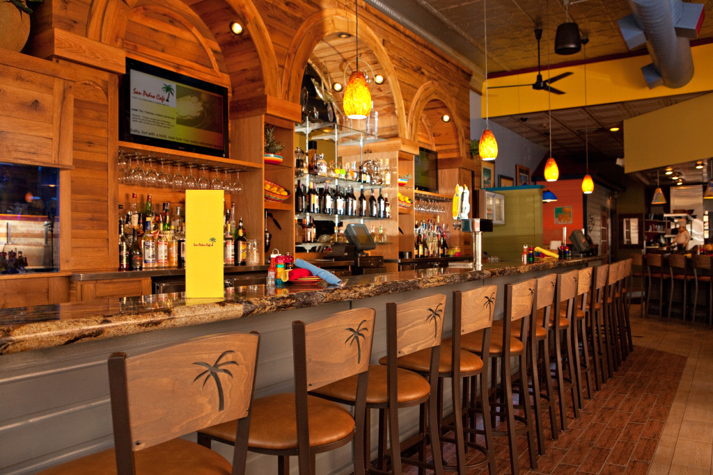 San Pedro Café is a Caribbean-themed restaurant in downtown Hudson.
