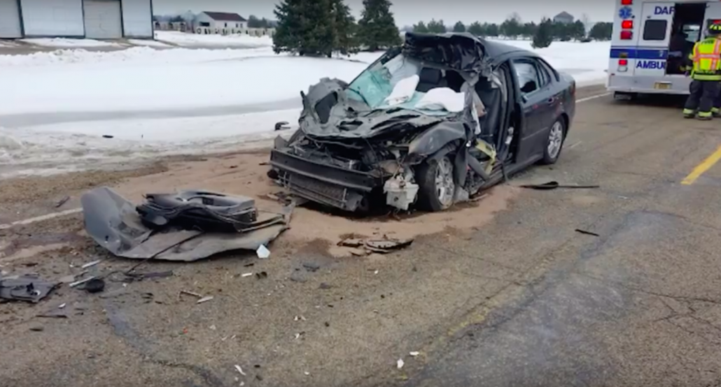 Accident On Hwy 29 Wisconsin Yesterday