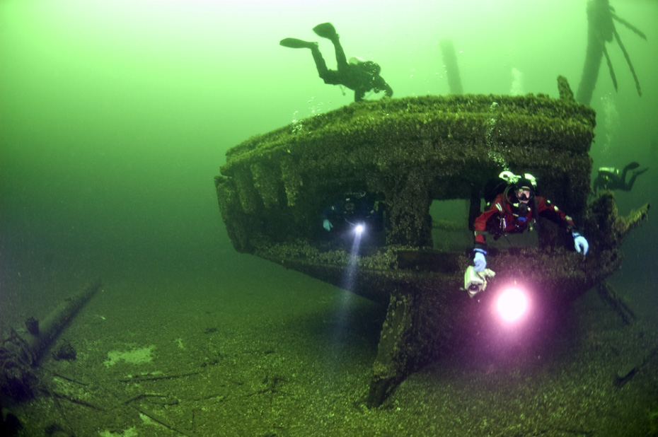 Scuba Diving near Sheboygan