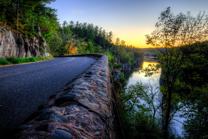 St. Croix River at Interstate State Park by Bill Pohlmann