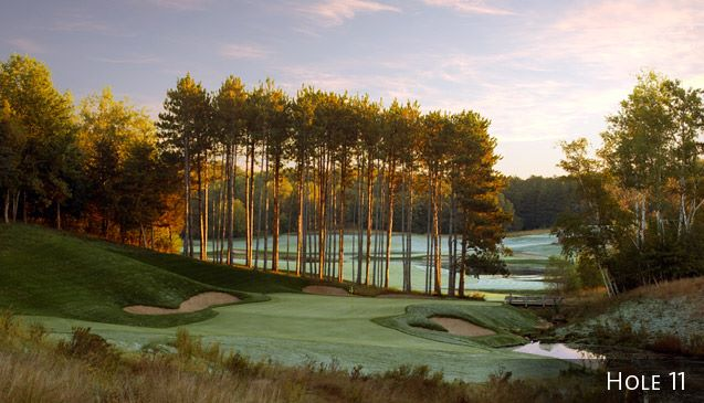 Troy Burne Golf Club was designed by pro golfer Tom Lehman.