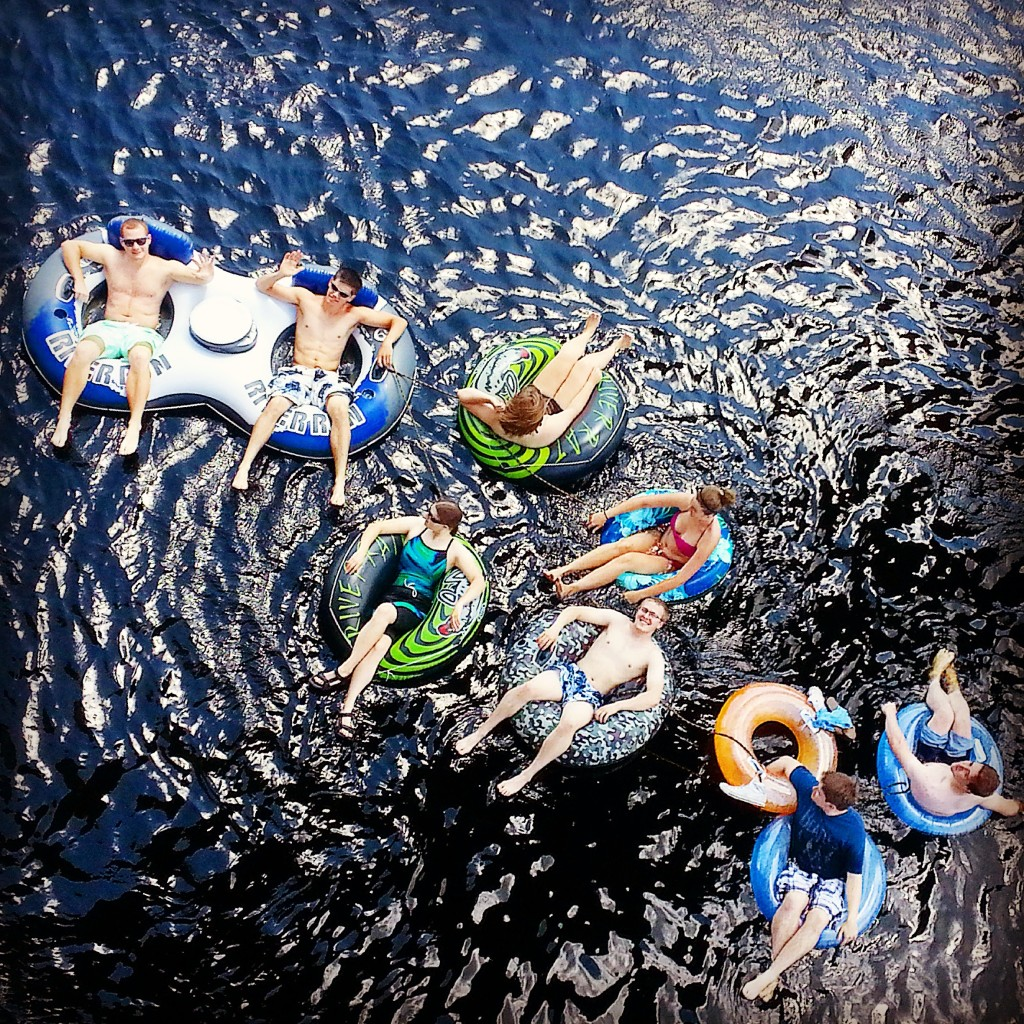 Tubing in Eau Claire