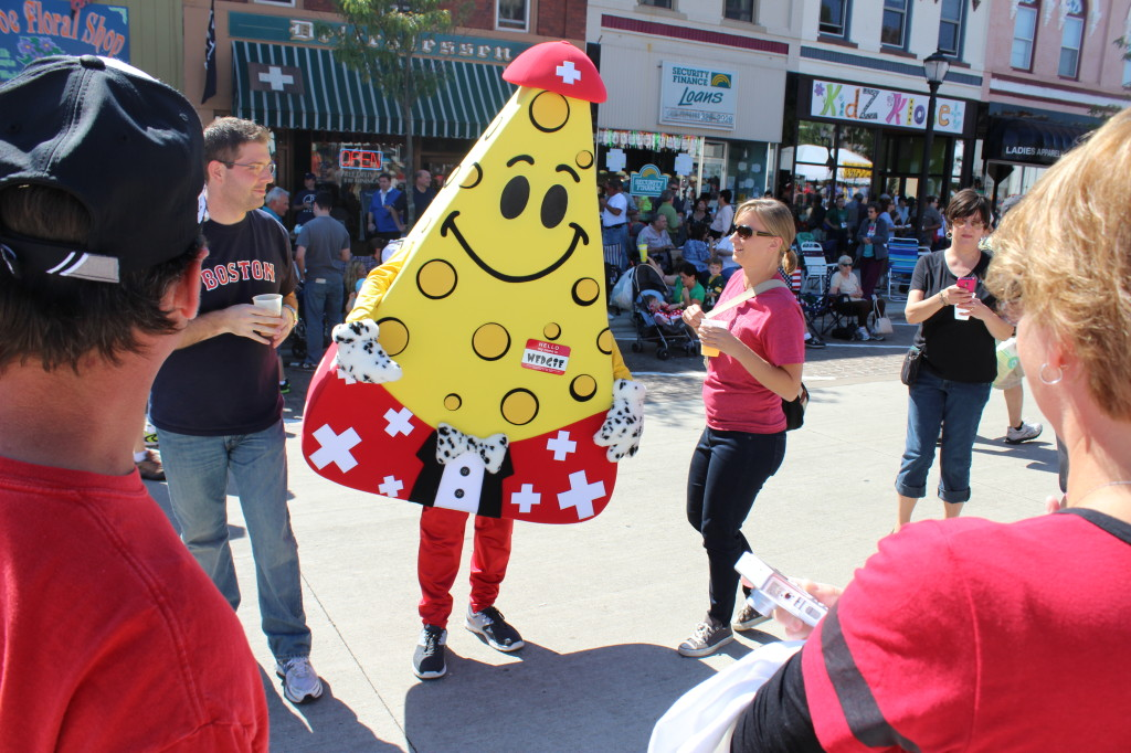 Wedgie - The Cheese Days Mascot
