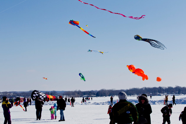 Marvel at dazzling skies, sculptures and surprises during the 3rd annual Sky Circus On Ice at Lake Lawn Resort. (Feb. 12-14)
