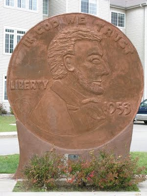 World's Largest Penny