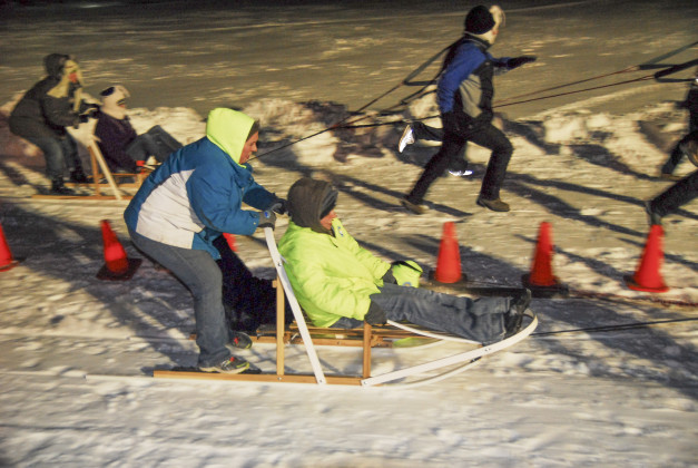 Form a team and take the reins at this annual wacky tradition! It's the Human Dog Sled Races at Lake Geneva Canopy Tours with George Williams College. (Feb. 13)