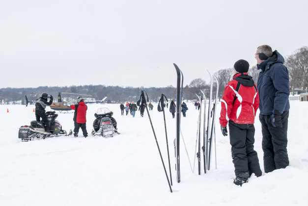 From skiing to snowmobiling to helicopter rides, you won't run out of things to do at Winterfest!