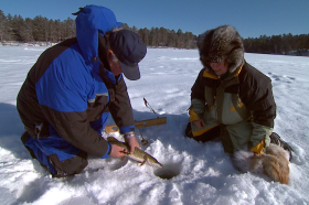 Wisconsin Ice Fishing - Northern Pike