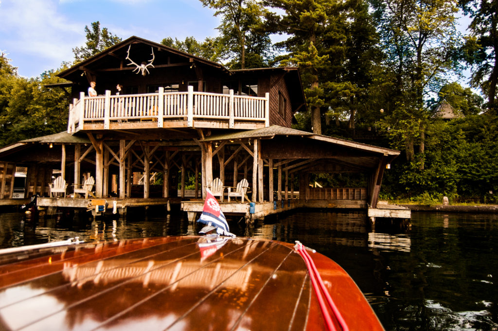 Boat House with Calista