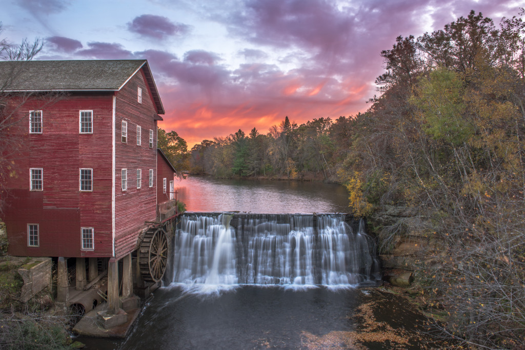 The Dells Mill is one of the most photographed sites in Wisconsin. Photo by Adam Dorn Photography