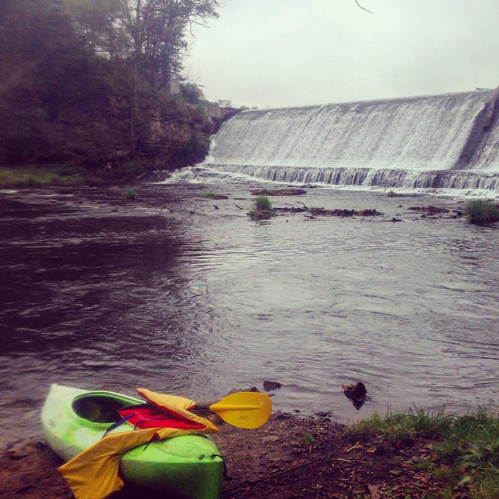 Kayaking on the Kinni [Photo by @sushicats, Instagram]