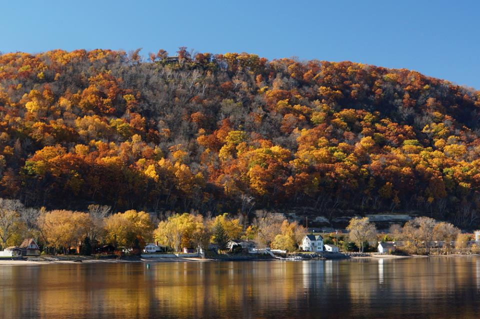 The city of La Crosse is your last stop in La Crosse County on Highway 35. [Photo by Gary Flohr]