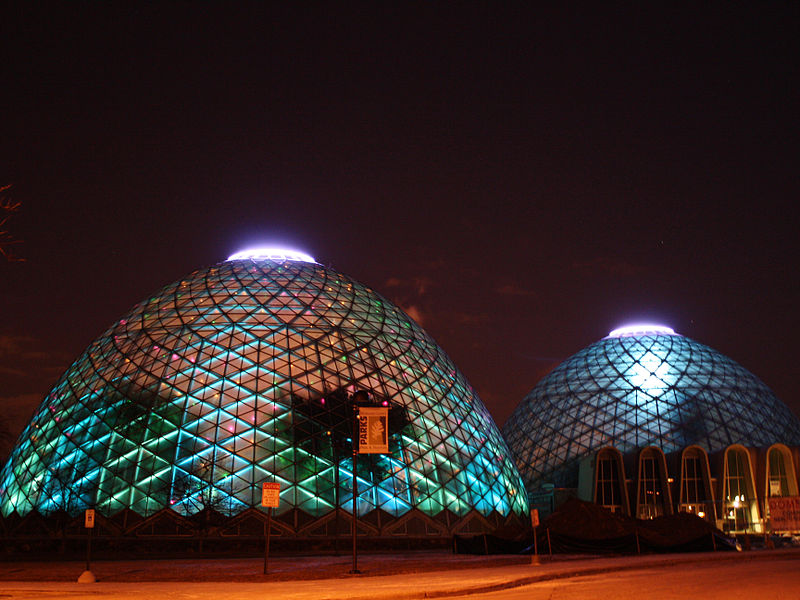 9. New Year's Eve Celebration at the Domes