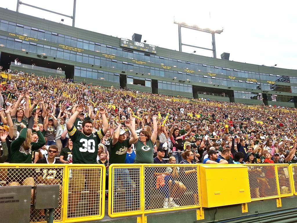 Packers Family Night is showcased on Discover Wisconsin in an upcoming episode