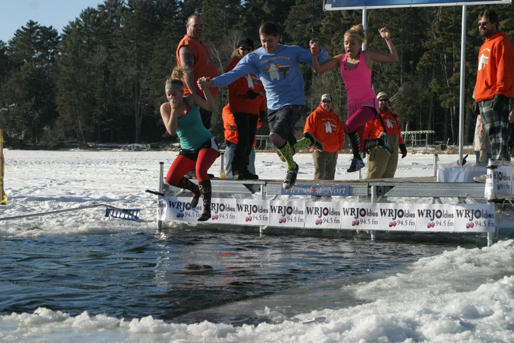 6. 15th Annual Original Northwoods Polar Bear Plunge
