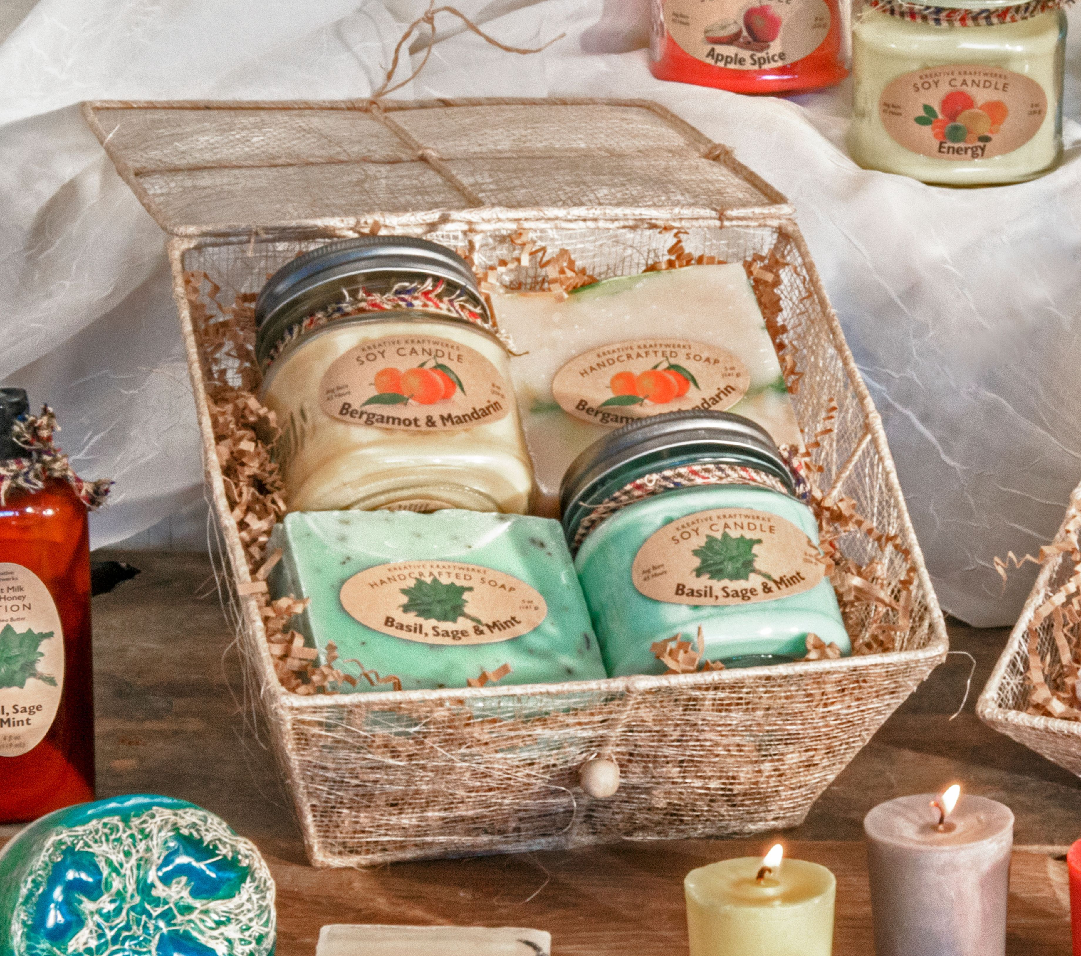 Soap Candle Gift Box