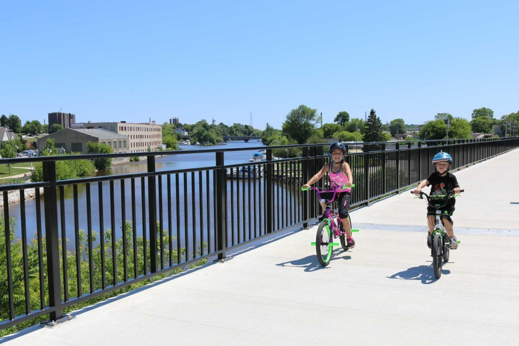 Our recent Discover Wisconsin highlights kid-friendly activities in Sheboygan - such as biking!