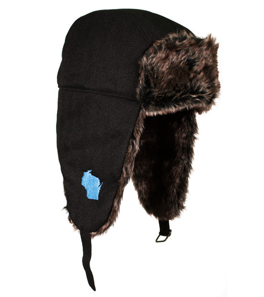 """""""Discover Wisconsin"""" Trapper Hat"""