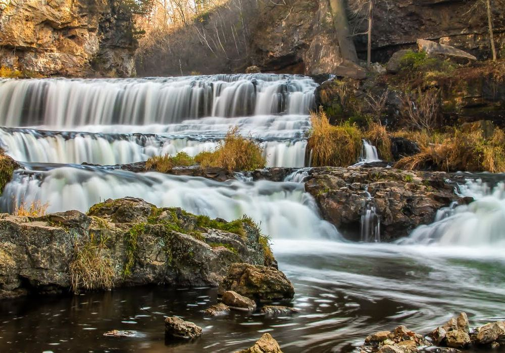 Willow River State Park is about 10 minutes off of Highway 35 near Hudson. [Photo by Melinda Martin]