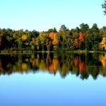 Fall in Wisconsin at St. Germain