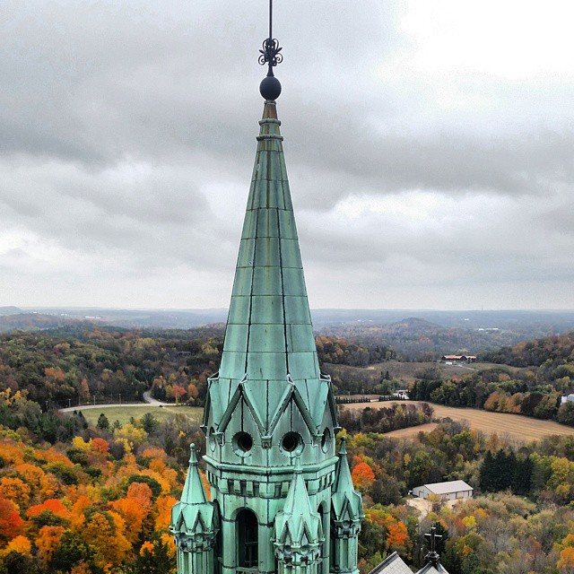 You'll be amazed by the views Holy Hill offers. [Photo by @midwest_explorer, Instagram]