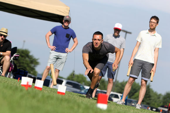Eau Claire is the home of the U.S. National Kubb Championship. [Photo by Volume One]